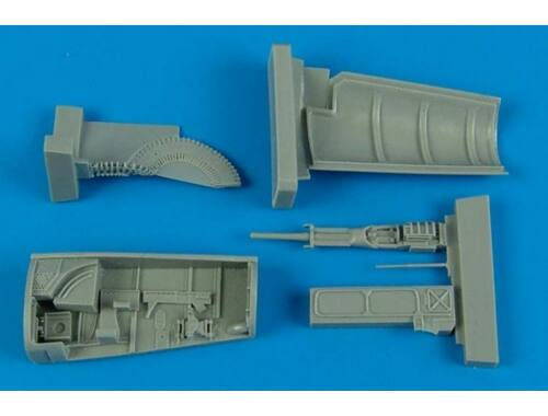 Aires F-5F Tiger II gun by for AFV Club 1:48 (4554)