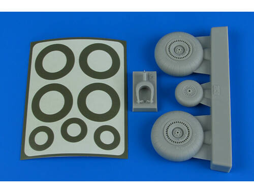 Aires Do 217 Wheels & paint masks for ICM 1:48 (4789)