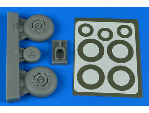 Aires Do 217N wheels & paint masks - early B ICM 1:48 (4802)