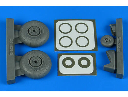 Aires Do 17Z/Do 215 wheels & paint masks for ICM 1:48 (4831)