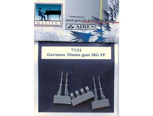 Aires German 20mm guns MG FF 1:72 (7134)