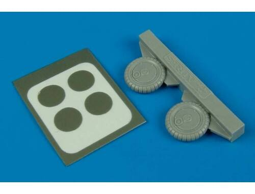 Aires Bf 109G-6 wheel & paint masks 1:72 (7233)