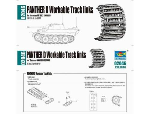 Trumpeter Panther D Workable Tracks links 1:35 (2046)