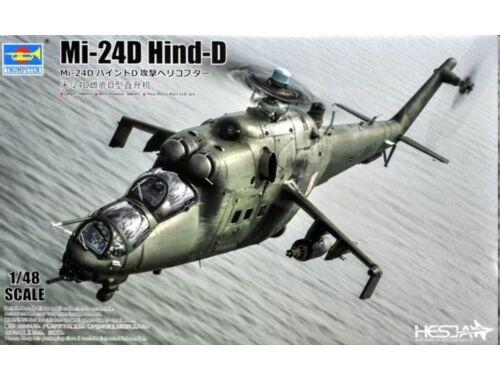 Trumpeter Mi-24V Hind-E 1:48 (05812)