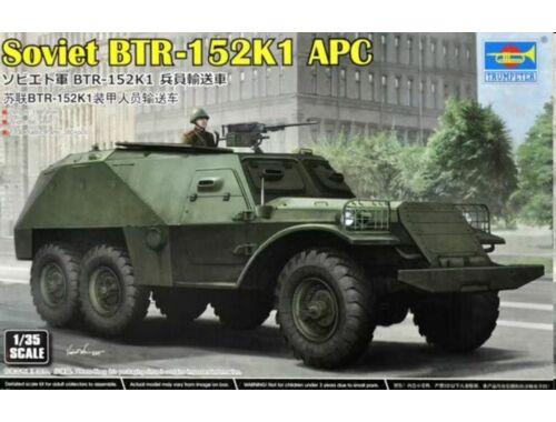Trumpeter Soviet BTR-152K1 APC 1:35 (09574)