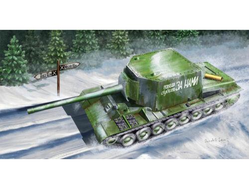 Trumpeter Soviet Su-100U Tank Destroyer 1:35 (09589)