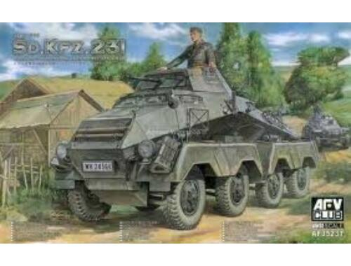 AFV Club Sd. Kfz. 231 early type 1:35 (AF35231)