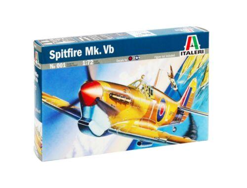 Italeri Spitfire Mk. Vb 1:72 (001)