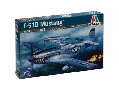 Italeri F-51D Mustang 1:72 (086)