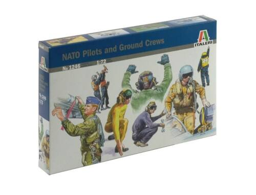 Italeri Nato Pilots and Ground Crew 1:72 (1246)