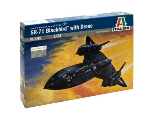 Italeri SR-71 Blackbird with Drone 1:72 (145)