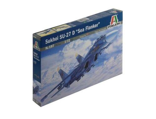 Italeri SU-27D SEA FLANKER 1:72 (0197)