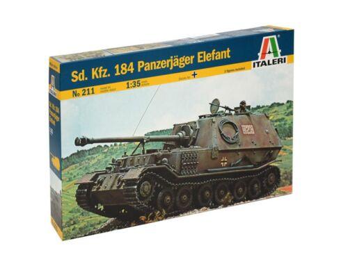 Italeri Sd.Kfz.184 Panzerjäger Elefant 1:35 (211)