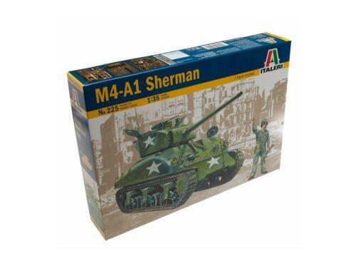 Italeri M4-A1 Sherman 1:35 (225)