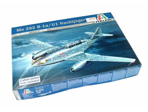 Italeri ME 262 B-1a/U-1 Nachtjäger 1:48 (2679)