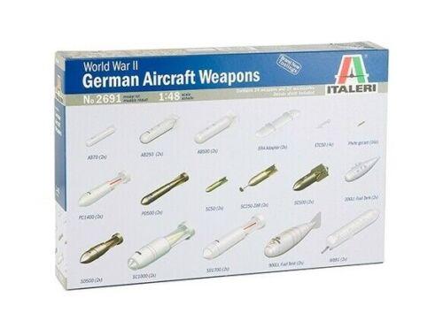 Italeri German Aircraft Weapons 1:48 (2691)