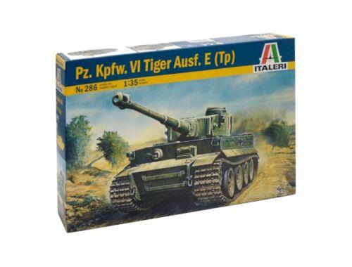 Italeri Pz.Kpfw. IV TIGER Ausf. E (Tp) 1:35 (0286)