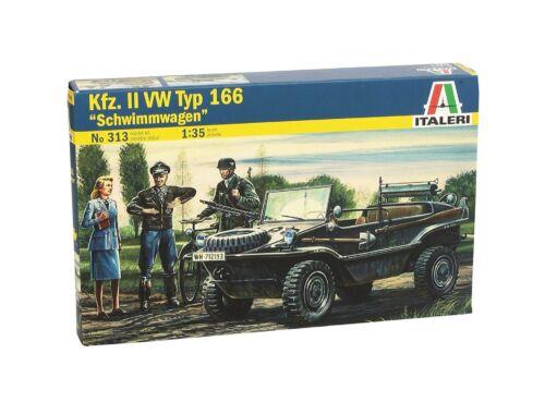 Italeri Kfz. II WV Typ 166 Schwimmwagen 1:35 (313)