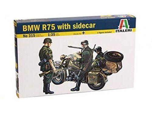 Italeri BMW R75 with Sidecar 1:35 (0315)