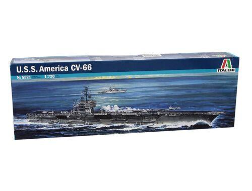 Italeri USS America CV-66 1:720 (5521)