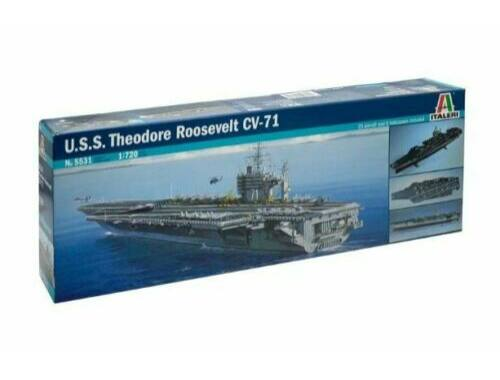 Italeri USS Theodore Roosevelt CV-71 1:720 (5531)