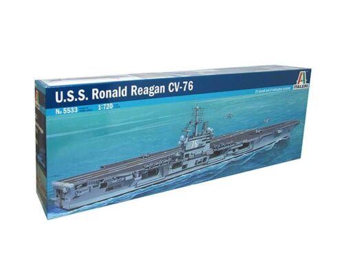 Italeri USS Ronald Reagan CV-76 1:720 (5533)