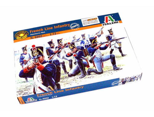 Italeri French Line Infantry - Napoleonic Wars 1:72 (6002)