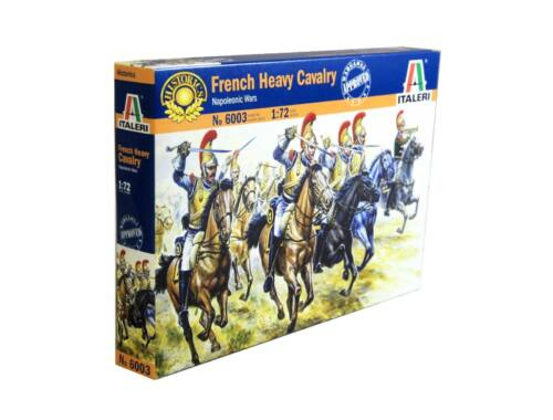 Italeri French Heavy Cavarly - Napoleonic Wars 1:72 (6003)