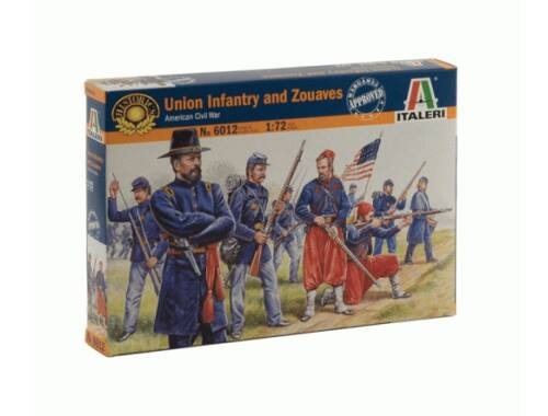 Italeri Union Infantry and Zouaves - American Civil War 1:72 (6012)