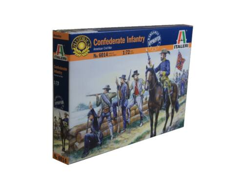 Italeri Confederate Infantry - American Civil War 1:72 (6014)