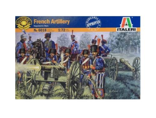 Italeri French Line/Guard Artillery 1:72 (6018)