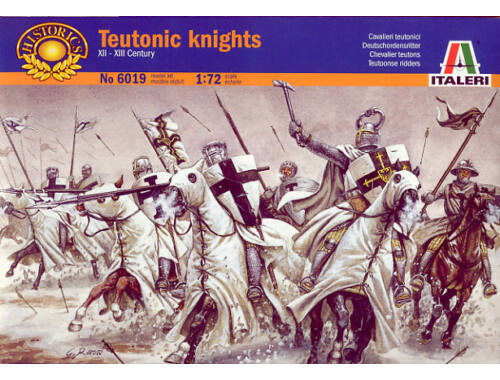 Italeri Teutonic Knights Historic 1:72 (6019)