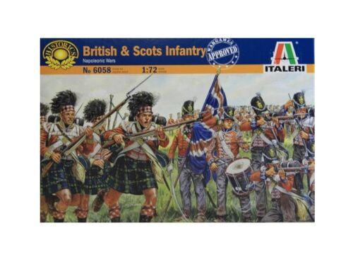 Italeri British Scots Infantry 1:72 (6058)