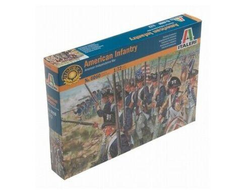 Italeri American Infantry - American Independence War 1:72 (6060)