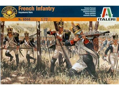 Italeri French Infantry - Napoleonic wars 1:72 (6066)