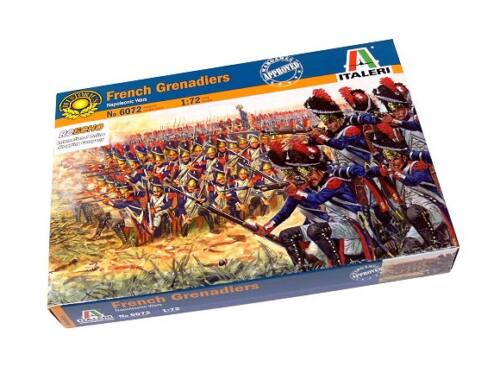 Italeri French Grenadiers - Napoleonic Wars 1:72 (6072)