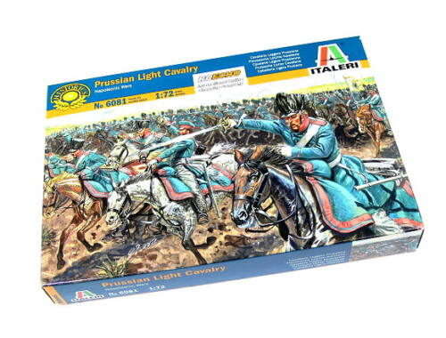 Italeri Prussian Light Cavarly - Napoleonic Wars 1:72 (6081)
