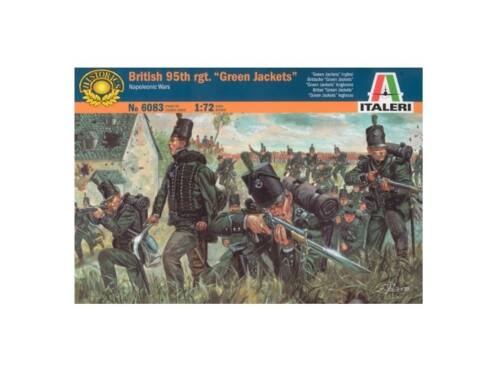 Italeri 95 Th. Rgt. British Green Jackets 1:72 (6083)