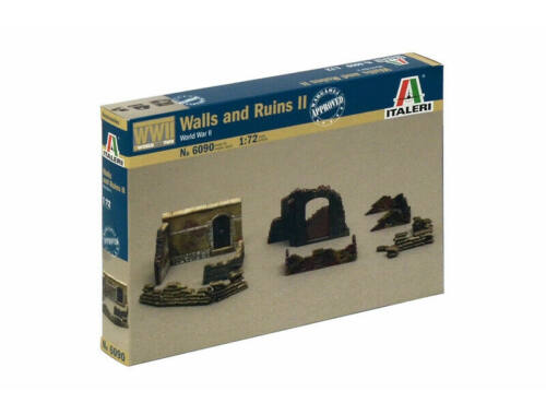 Italeri Walls and Ruins II. 1:72 (6090)