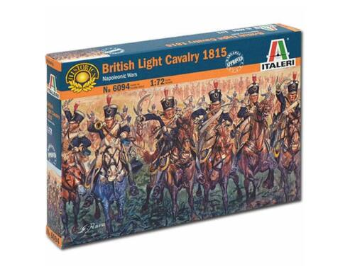 Italeri NapoleonicWar-British light cavalry 1815 1:72 (6094)