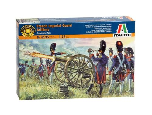 Italeri French Imperial Guard Artillery - Napoleonic Wars 1:72 (6135)