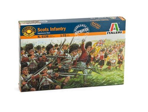 Italeri Scots Infantry - Napoleonic Wars 1:72 (6136)