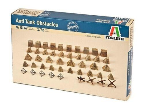 Italeri Anti Tank obstacles 1:35 (6147)