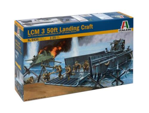 Italeri LCM 3 50ft Landing Craft 1:35 (6436)