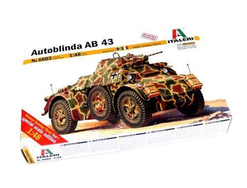 Italeri Autoblinda AB 43 1:48 (6603)