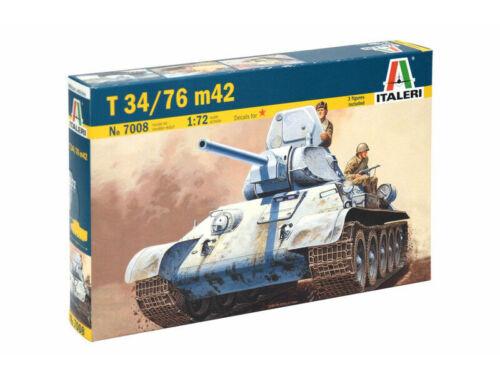 Italeri T 34/76 M42 1:72 (7008)