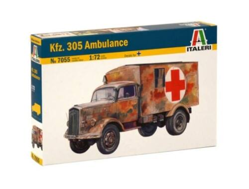 Italeri Kfz.305 Ambulance 1:72 (7055)