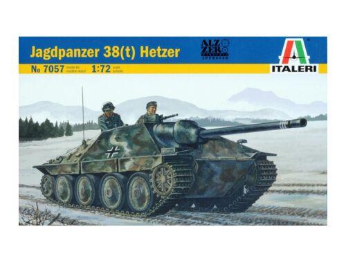 Italeri Jagdpanzer 38(t) HETZER 1:72 (7057)
