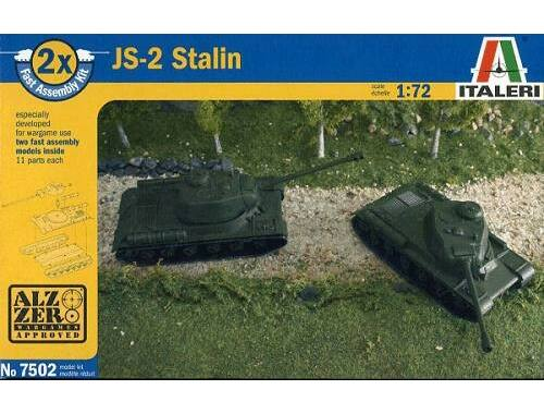 Italeri JS-2M Stalin Fast Assembly Kit 1:72 (7502)