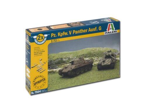 Italeri Pz.Kpfw.V Panther (easykit 2pcs) 1:72 (7504)